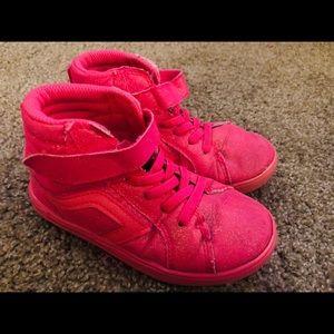 🌺Girls pink glitter tennis shoes (Toddler 11)